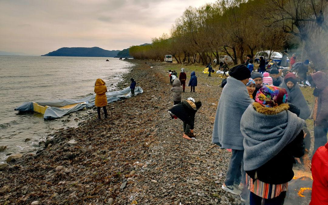 Campo de refugiados de Lesbos: la crisis en la frontera de la UE